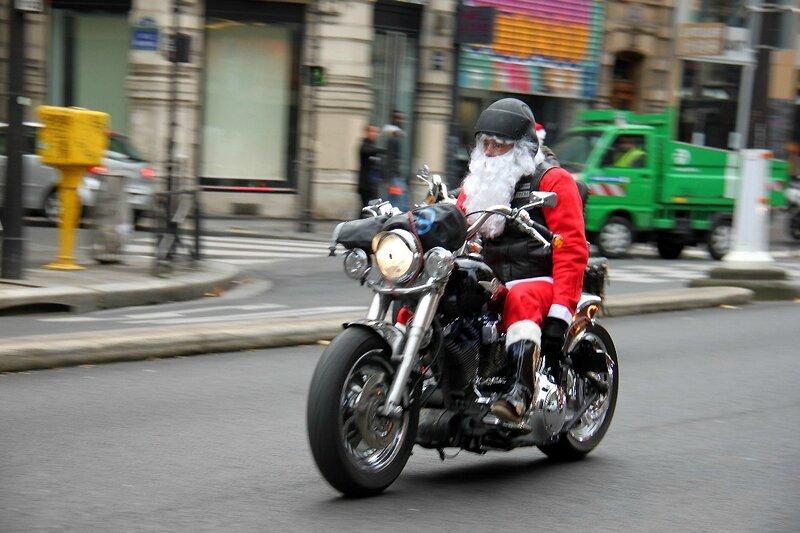 8-Père Noël motard_6619