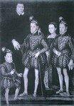 La famille royale vers 1564