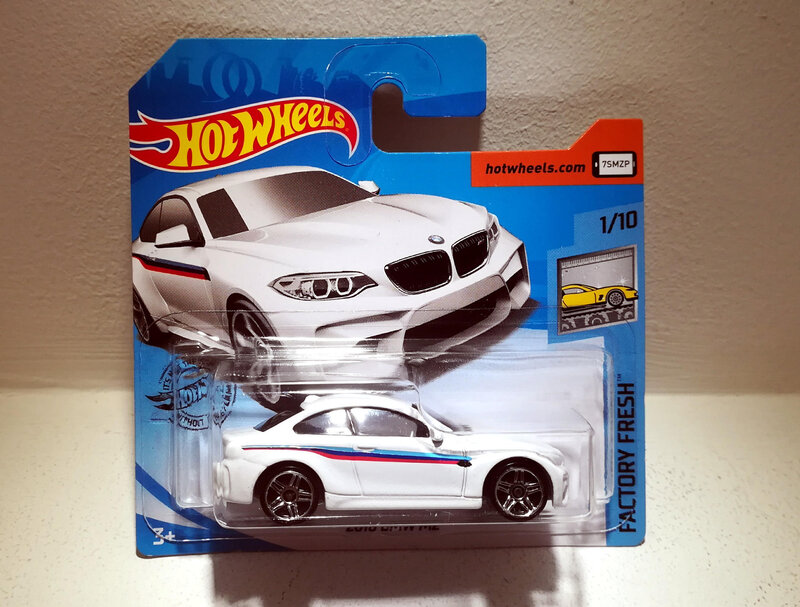 BMW M2 de 2016 (Hotwheels) (2)