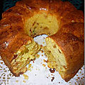 Cake anglais à l'orange et fruits confits