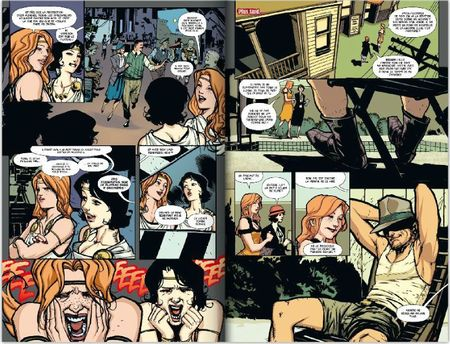 Double page American Vampire