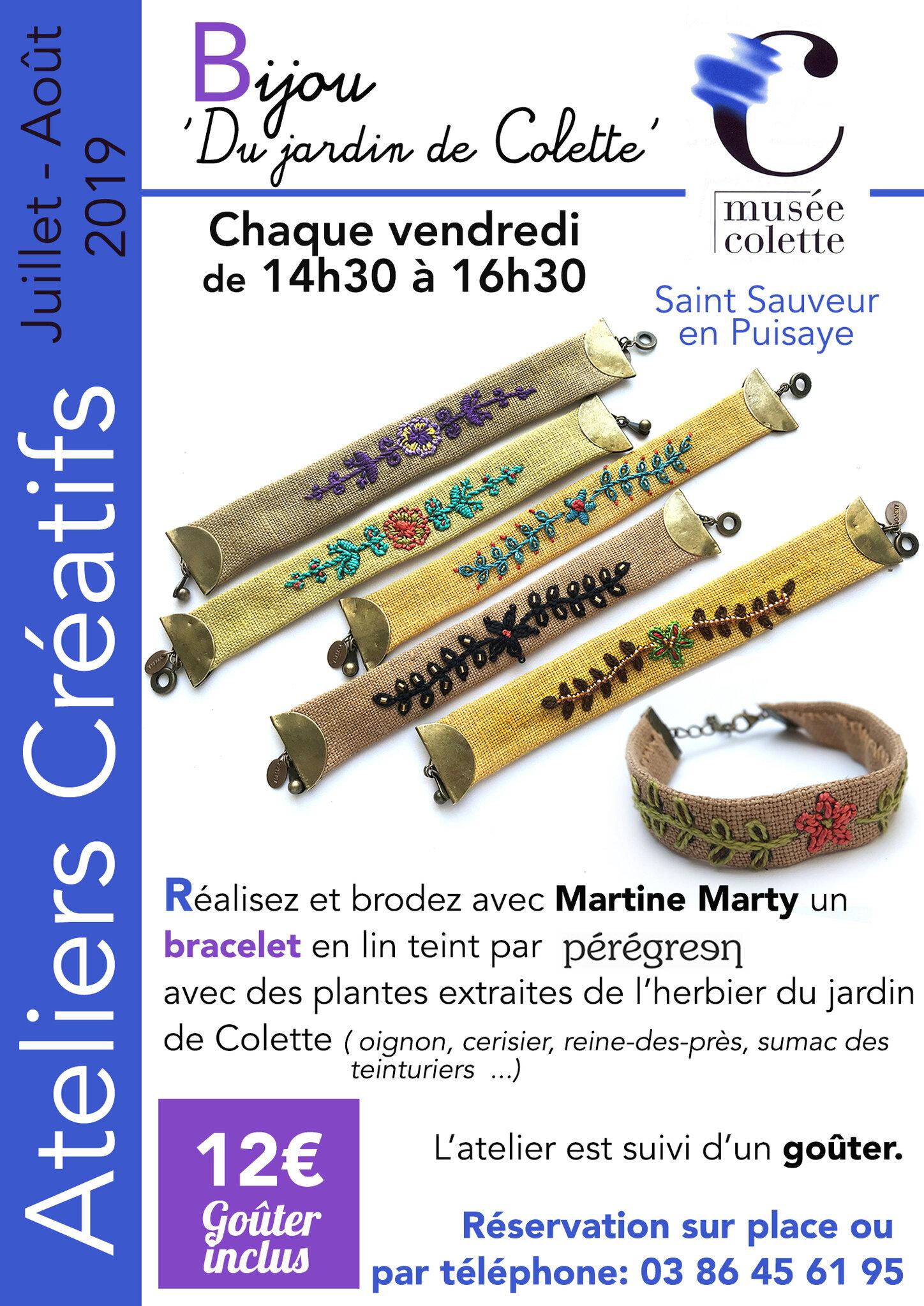 Un été créatif au Musée Colette ....