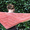 Clue shawl by verybusymonkey : suite et fin !!