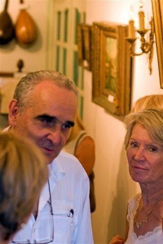Guy Savelli nous présente son musée.Copyright Olivier GOMEZ