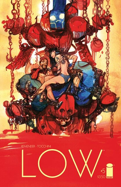 Image Comics Low by Remender & Tocchini
