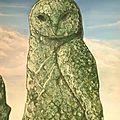Le hibou de pierre