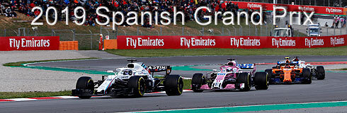 SPANISH GRAND PRIX AFFICHE OFF