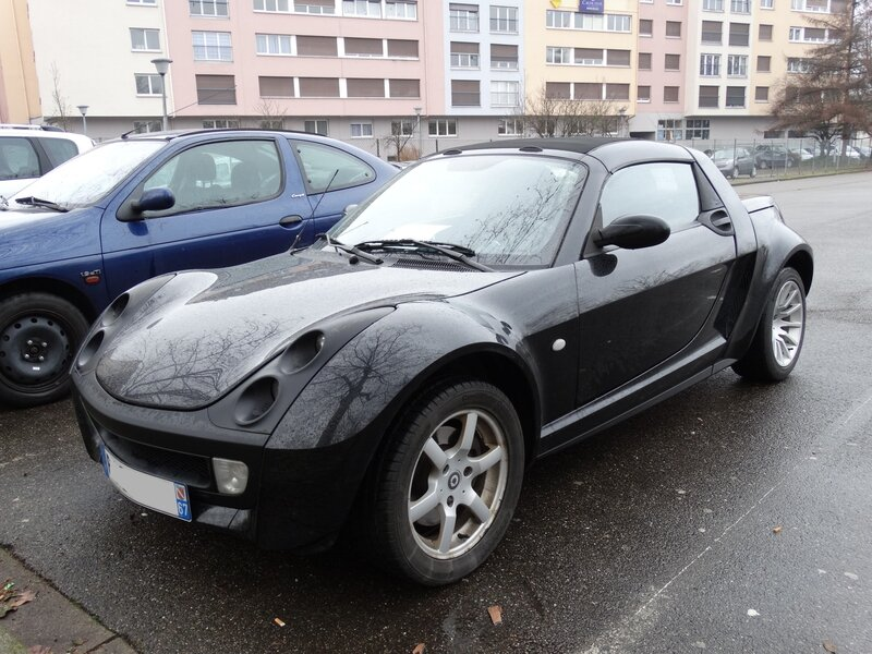 SMART Roadster 2004 Strasbourg (1)