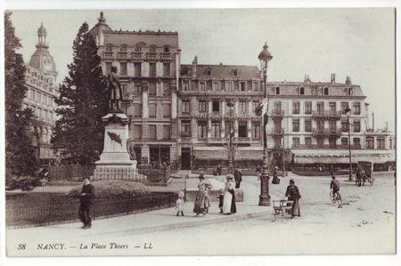 54 - NANCY - Place Thiers
