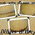 Cheesecake vanille - ananas