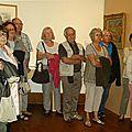 Visite de l'exposition maximilien luce au musee de gueret