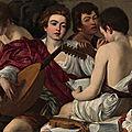 Les tableaux du caravage à rome (13/20). n°★ - sant eustachio - le palais madama
