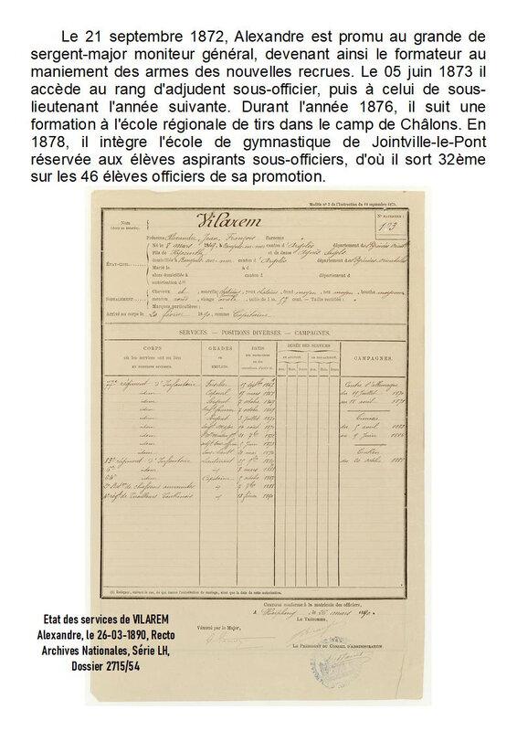 37-8) VILAREM Alexandre - Légion d'Honneur - Page 3