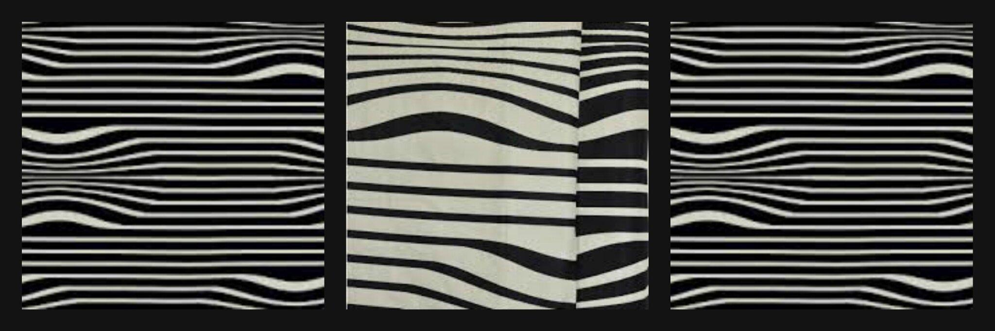 tissu illusion Jean Paul Gaultier côté sièges à Brest