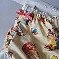 Culotte en coton coquille d'oeuf imprimé jouets et dos uni écru - taille S (2)