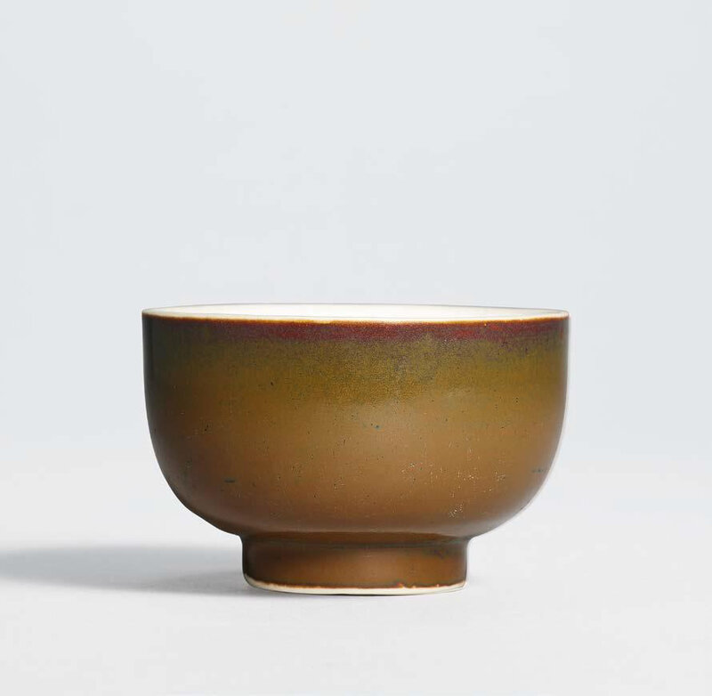 A small Ding persimmon-glazed bowl, Northern Song dynasty (960–1127)