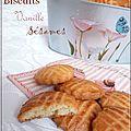 Biscuits vanille & sésames