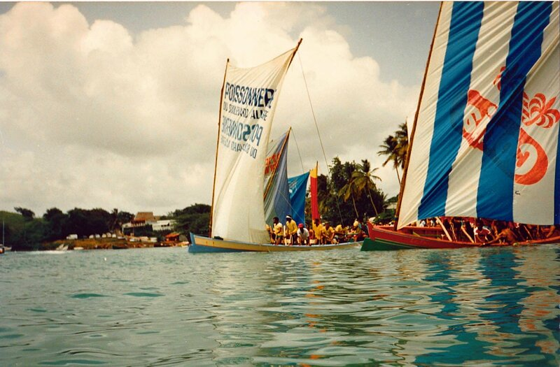 MARTINIQUE COURSE GOMMIER 1986