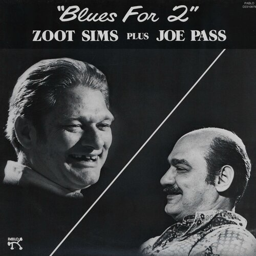 Zoot Sims Plus Joe Pass - 1982 - Blues for 2 (Pablo)