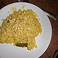 Riz aux oignons et au curry
