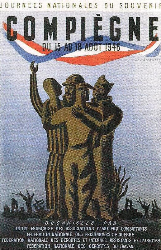 affiche mythe résistancialiste - unité des déportés 2