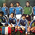 17 novembre 1979 FRANCE-TCHÉCOSLOVAQUIE ... MATCH QUALIFICATIF CHAMPIONNAT D'EUROPE DES NATIONS