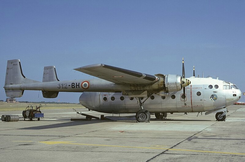 Nord_N-2501F_Noratlas,_France_-_Air_Force_AN0806593