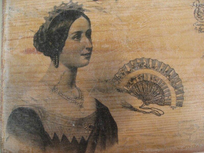 boite en bois relookée (2)