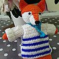 Atelier creatif - amigurumi mon renard