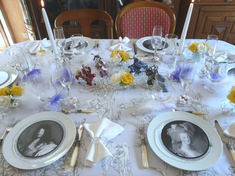 Table Royale Au Tournoi Album Photos Deco De Tables