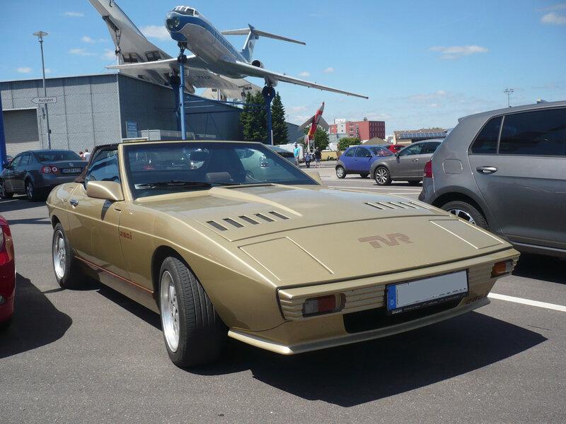 TVR Tasmin 280i cabriolet Sinsheim (1)