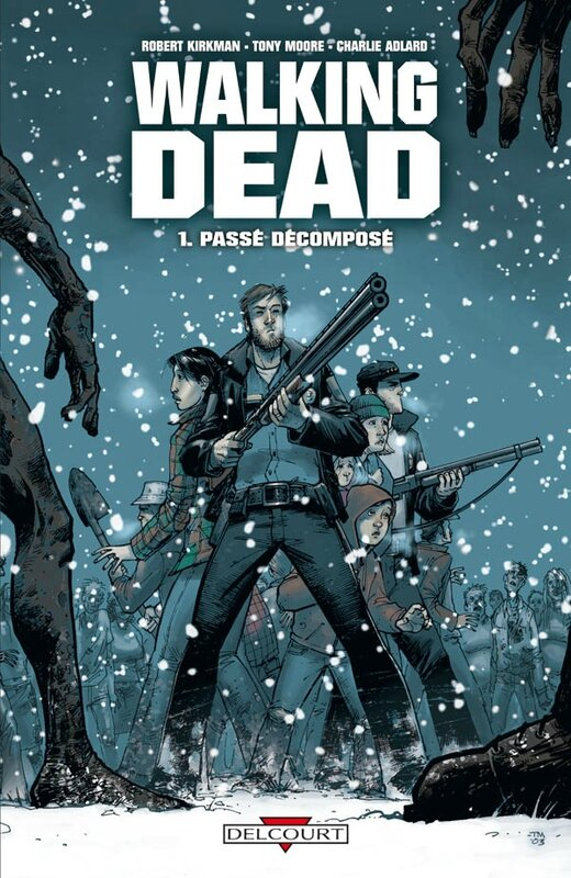Delcourt : Walking Dead