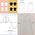 Je couds ma garde-robe capsule #1 : les projets