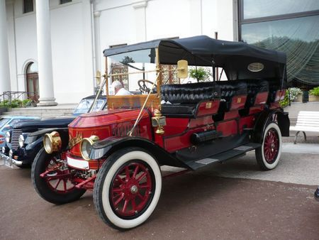 STANLEY Steamer Model 810 Mountain Wagon 1913 baden Baden (1)