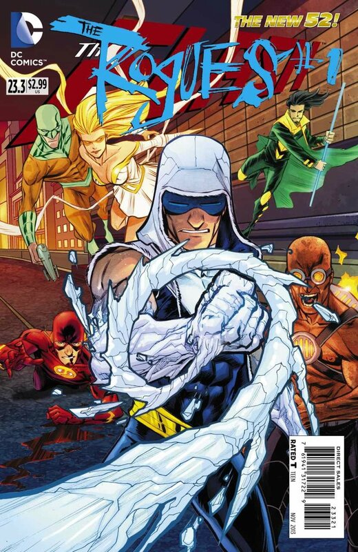 new 52 flash 23.3 rogues