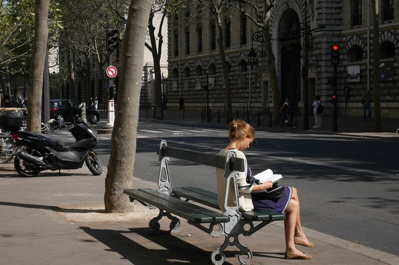 La Lectrice - Besopha - Flickr