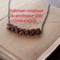 talisman magique anti-balle du professeur zola