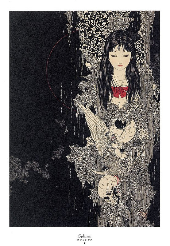 CanalBlog Artbook Takato Yamamoto Divertimento For A Martyr003