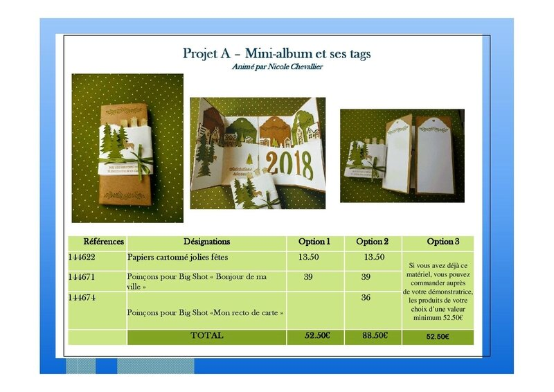 Atelier A - Mini-album et ses tags