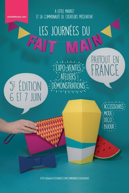 Affiche journée du fat main
