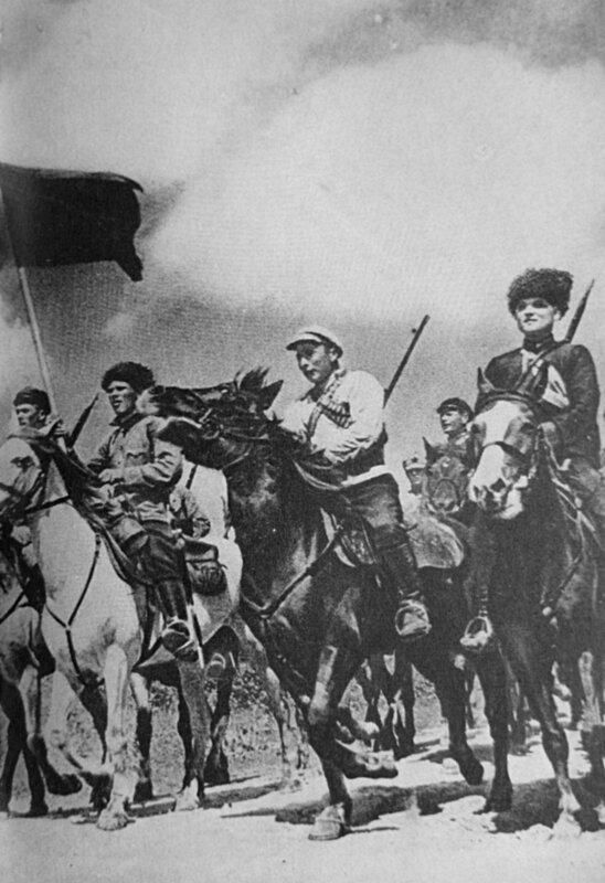 1920-Armee rouge-cavalerie