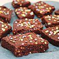 Brownies (avec la préparation mes brownies kids de mon partenaire quai sud)