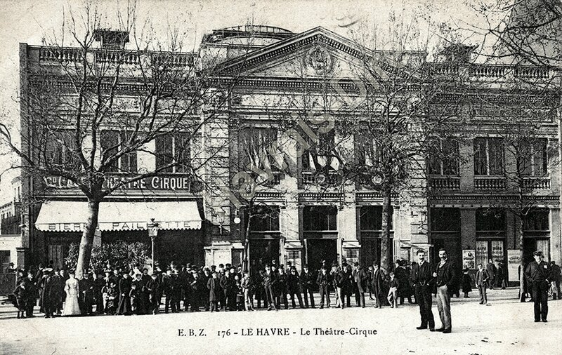 CPA Théâtre cirque (2) ALG