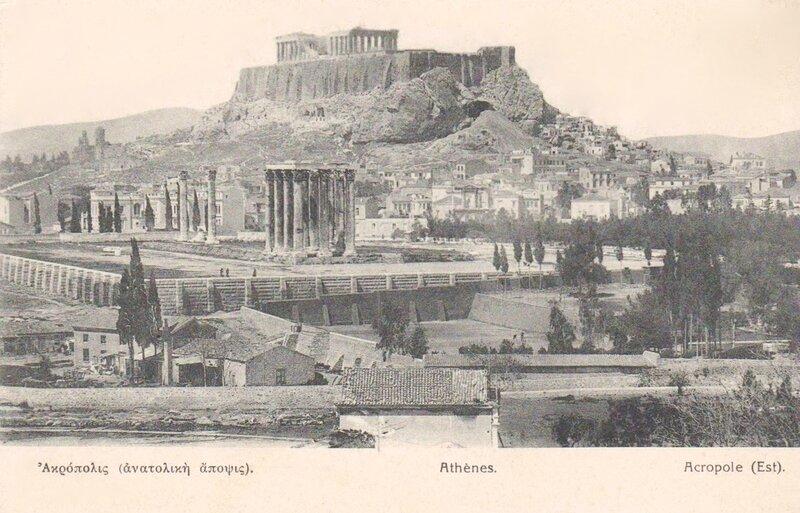 Athènes Acropole est