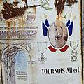Tournois albert jules adrien (chitray) + 10/08/1918 rubescourt (80)
