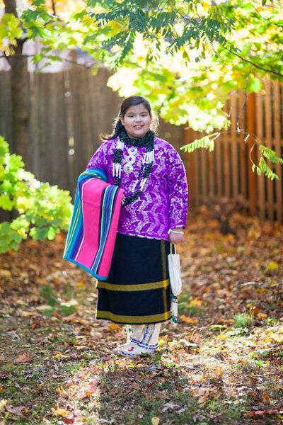 Janese Lasley Sieke, une jeune Osage venue à Montauban en 2006