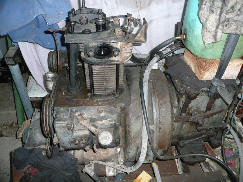 9502 CFB moteur Vendoeuvre pour chassis locotracteur Orenstein