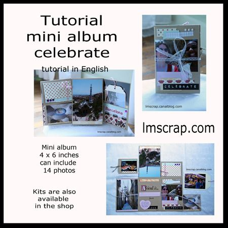 Tutorial English mini celebrate lmscrap
