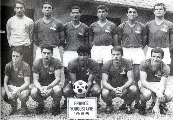 1965 10 09a Equipe France Yougoslavie 1