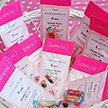Invitations 9 ans olivia...